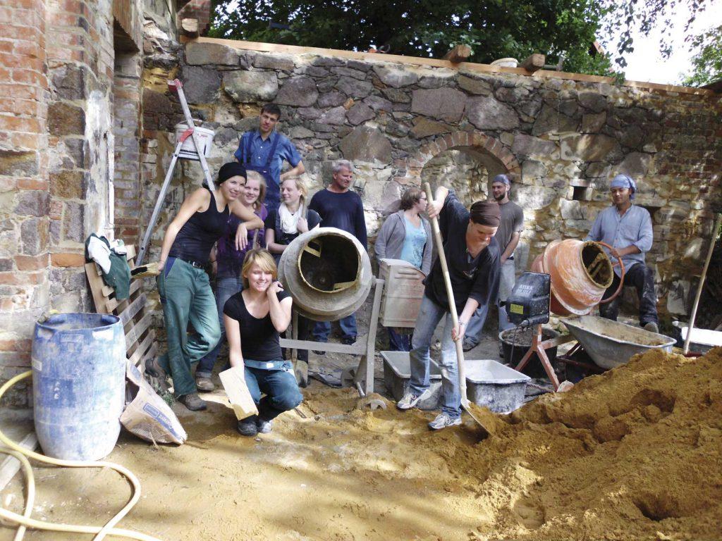 Gruppenbild Baucamp Quetz