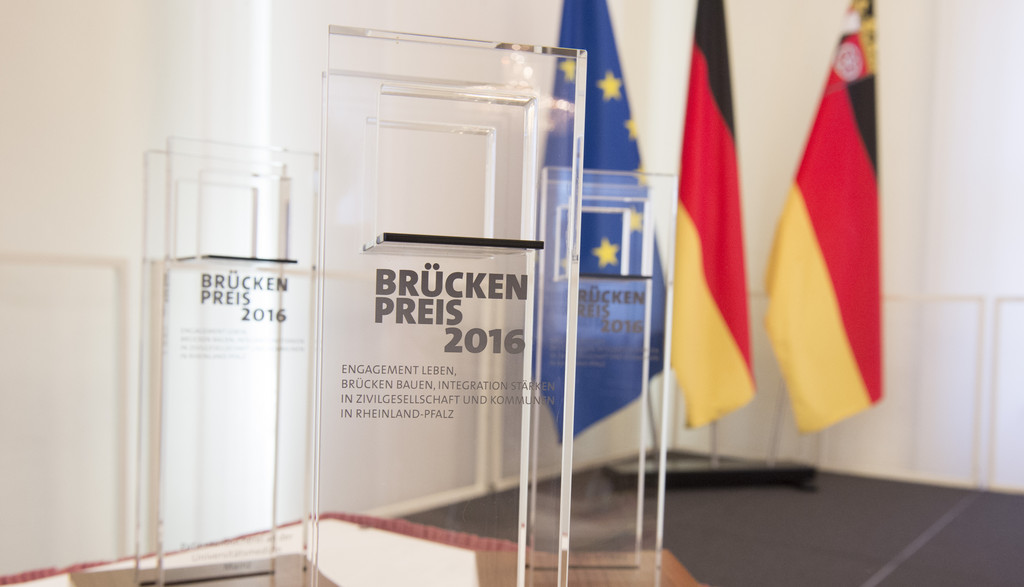 Der Bauorden erhält den BrückenPreis 2016 des Landes Rheinland-Pfalz.