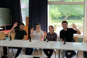 Die Teilnehmenden des Baucamps in Aachen