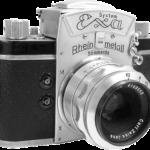 Foto einer Kamera Exa Rheinmetall
